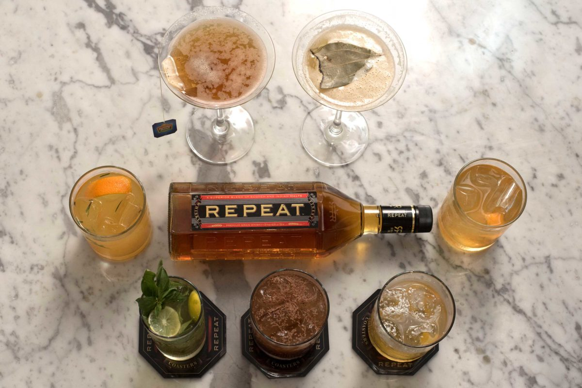 REPEAT whisky cocktails
